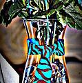 Flower Tie by Joyce Brooks