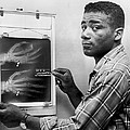 Floyd Patterson Looking At X Ray by Retro Images Archive
