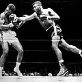 Floyd Patterson Throwing Hard Punch by Retro Images Archive