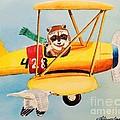 Flying Friends by LeAnne Sowa