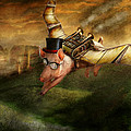 Flying Pig - Steampunk - The Flying Swine by Mike Savad