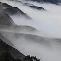 Foggy Coastal Hills by Garry Gay