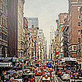 Foggy Day In The City by Kathy Jennings