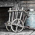 Folk Art Cart Still Life by Tom Mc Nemar
