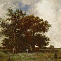 Fontainebleau Oak by Jules Dupre