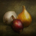 Food - Onions - Onions  by Mike Savad