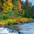 Foretelling Of A Storm Beaver's Bend Broken Bow Fall Foliage by Silvio Ligutti