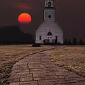 Fort Belmont Sunset by Aaron J Groen