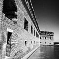 Fort Jefferson Brick Walls With Moat Dry Tortugas National Park Florida Keys Usa by Joe Fox