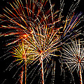 Fourth Of July Fireworks  by Saija  Lehtonen