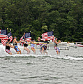 Fourth Of July On The Lake by Susan Leggett