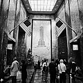 Foyer Of The Empire State Building New York City by Joe Fox