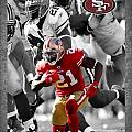 Frank Gore 49ers by Joe Hamilton