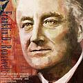 Franklin D. Roosevelt Print by Corporate Art Task Force