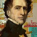 Franklin Pierce Print by Corporate Art Task Force