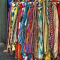 French Market Scarves by Brenda Bryant