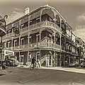 French Quarter Afternoon Sepia by Steve Harrington
