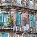 French Quarter Landmark by Brenda Bryant