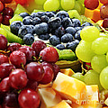 Fresh Fruits And Cheese by Elena Elisseeva