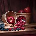Fresh Fruits Still Life by Tom Mc Nemar