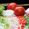 Fresh Vegetables by Oscar Gutierrez