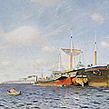 Fresh Wind On The Volga by Isaak Ilyich Levitan