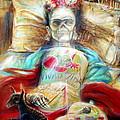 Frida Viva La Vida by Heather Calderon