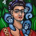Fridas Triplets by Victoria De Almeida