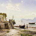From Sorrento Towards Capri by Peder Monsted