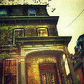 Front Of Old House by Jill Battaglia