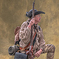 Frontiersman Golden Morning by Randy Steele