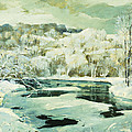Frosted Trees by Jonas Lie