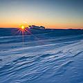 Frozen Lake Minnewaska by Aaron J Groen