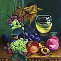 Fruit And Wine by Karon Melillo DeVega