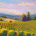 Fruit of the Vine - Sokol Blosser Winery Print by Talya Johnson