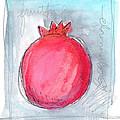Fruitful Beginning Print by Linda Woods