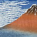 Fuji Mountains In Clear Weather by Hokusai