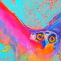 Funky Osprey Bird in...