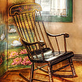 Furniture - Chair - The Rocking Chair by Mike Savad