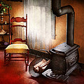 Furniture - Chair - Where She Spent Most Of Her Days by Mike Savad