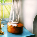 Furniture - Lamp - In The Window  by Mike Savad
