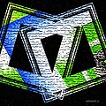 Fusion In Geometric Art by Mario Perez