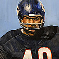 Gale Sayers by Michael  Pattison