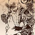 gandalf- Tolkien appreciation by Derrick Higgins