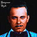 Gangman Style - John Dillinger 13225 - Black - Painterly - With Text by Wingsdomain Art and Photography