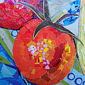 Garden Harvest Collage Detail by Shawna Rowe