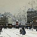 Gare Du Nord Paris by Eugene Galien-Laloue