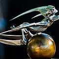 Gargoyle Hood Ornament by Jill Reger