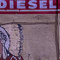 Gas Station Indian Chief by Garry Gay