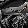 Gas Tank Pin Up Girl by Jeff Swanson